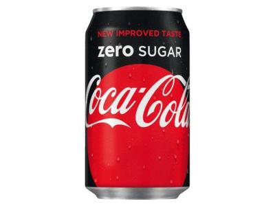 Blik cola- zero